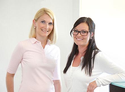 Spezialisiertes Team Dr Margherita Preyer und Manuela Jäger